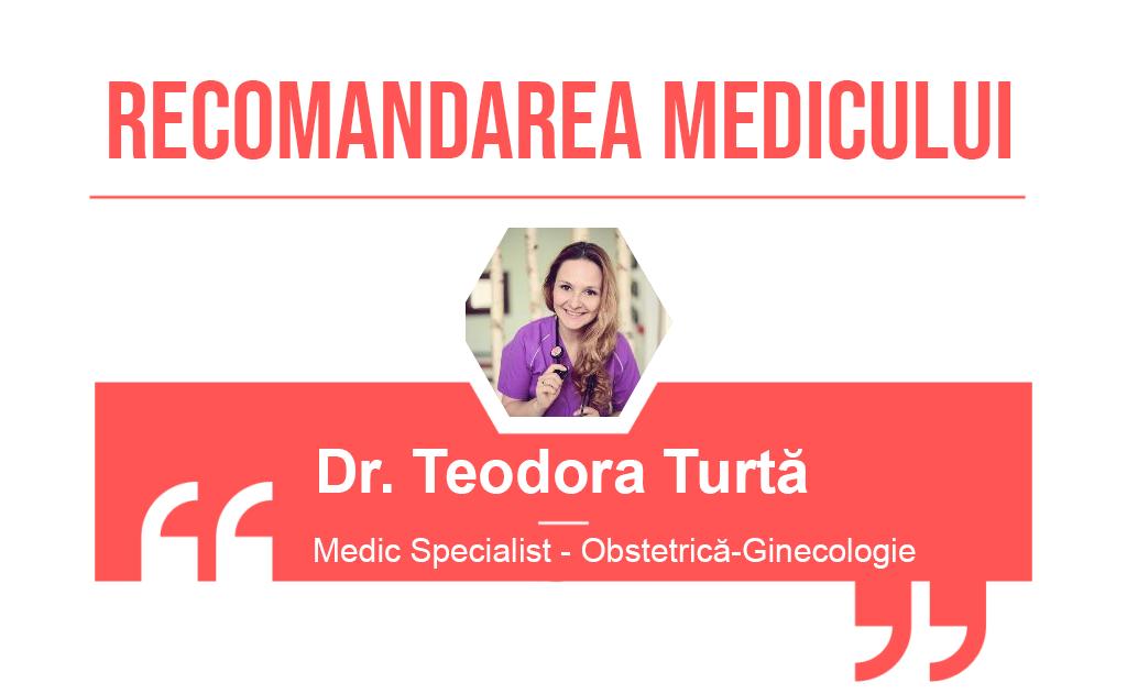 Recomandarea medicului Teodora Turta